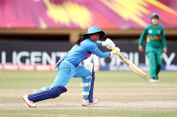Senior batsman Mithali Raj was omitted from the semi-final for no apparent reason