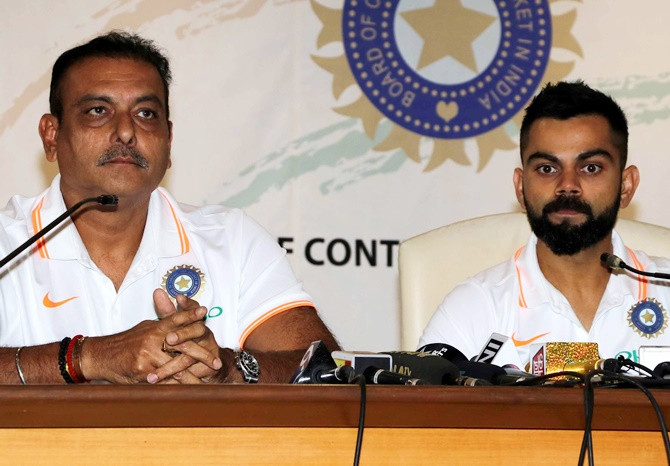 India 'taking no prisoners' against Australia, says Shastri