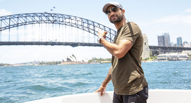 Shikhar Dhawan recommends taking a boat ride to experience the Sydney Harbour Bridge and the Sydney Opera House in all its glory
