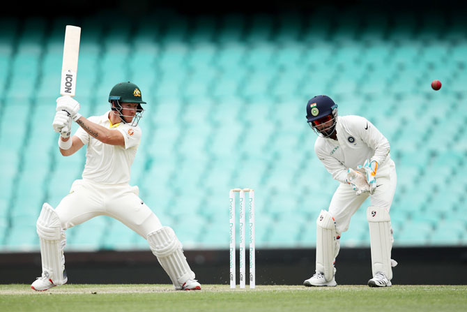 CA XI's Jake Carder in action