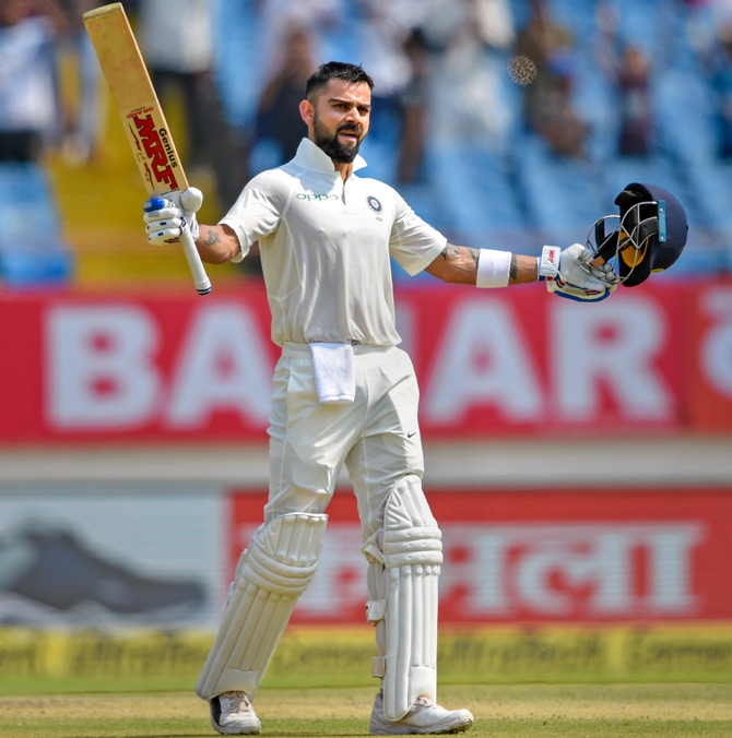 'The fact that Kohli loves Test cricket and puts in performances, it keeps Test cricket relevant in a country that loves the game with IPL and other T20s'