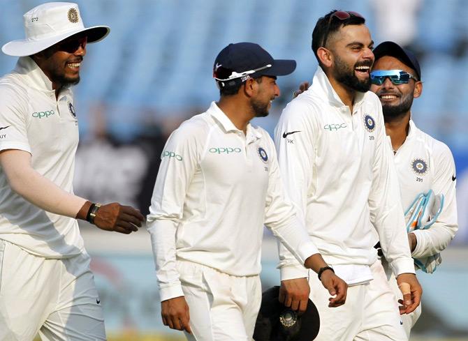 Virat Kohli has led India to 26 Test wins from 46 matches