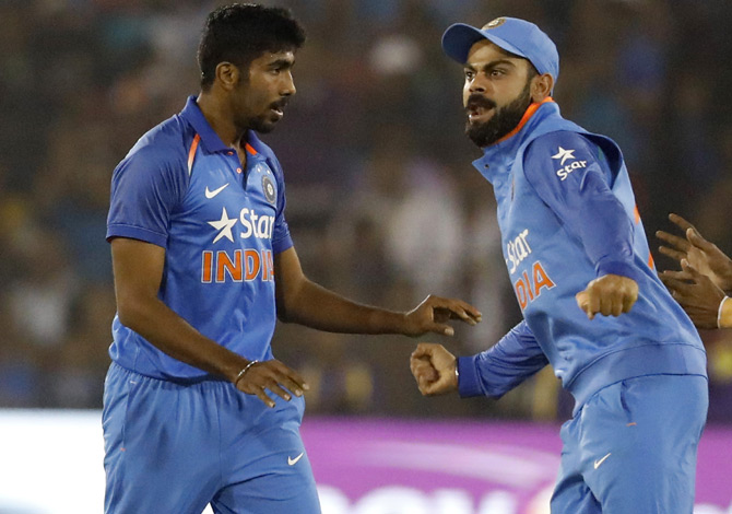 Kohli, Bumrah back for Aus ODIs; Karthik and Jadeja left out