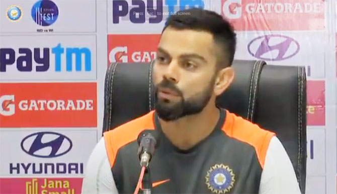 The Dukes ball is the most suited ball for Test cricket. If there's a situation I would vouch for that to be used all over the world because of the consistency of the ball and how the bowlers are in the game at any stage, said Virat Kohli on Thursday
