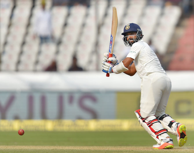 Ajinkya Rahane scored a composed 75 and stitched up a 146-run partnership with Rishabh Pant