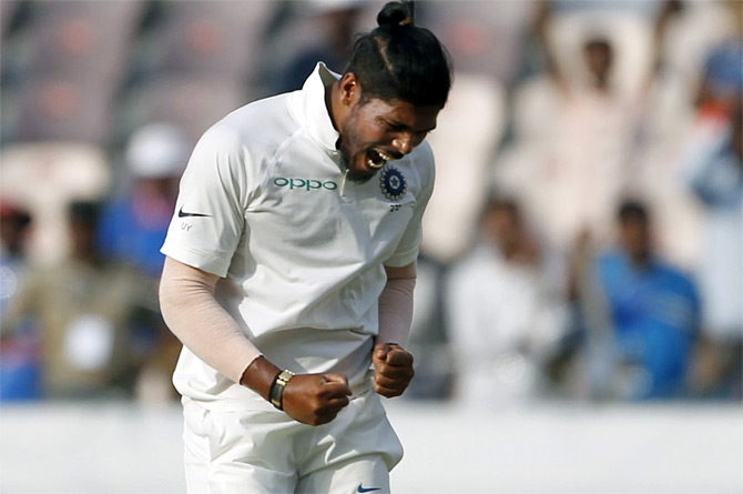 Rediff Cricket - Indian cricket - Umesh powers Vidarbha into Ranji Trophy semis