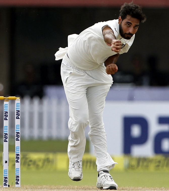 Rediff Sports - Cricket, Indian hockey, Tennis, Football, Chess, Golf - How Bhuvi plans to bamboozle Australia