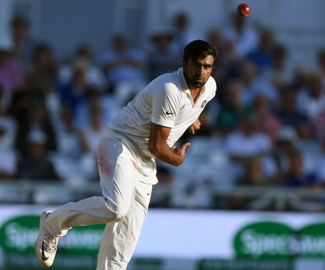 Ashwin takes five wickets for Nottinghamshire