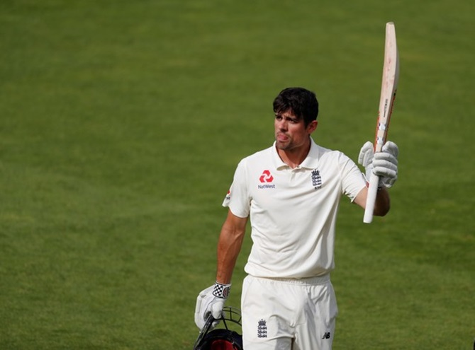 Cook's last stand ends with memorable century