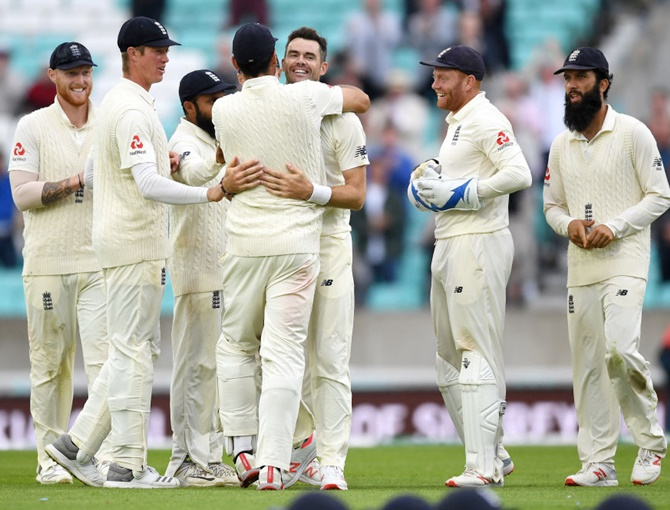 PHOTOS: Anderson ends India's resistance as England win final Test