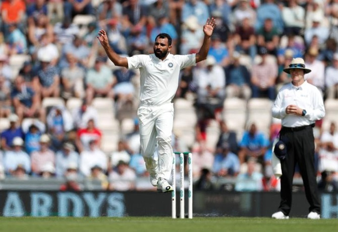 Why Shami has 'improved a lot' on this England tour...