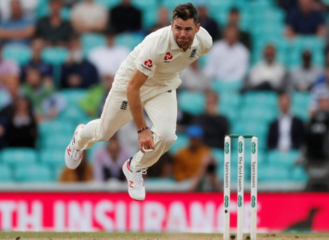 James Anderson will lead the English attack in the one-off Test against Ireland at Lord's on Wednesday
