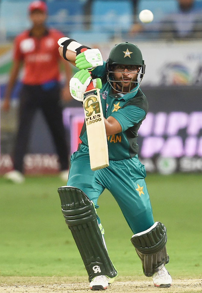 Imam-ul-Haq top-scored for Pakistan with 50* in their win against Hong Kong