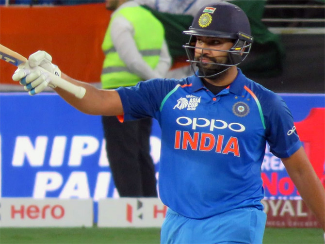 Rohit Sharma is in second spot in the ICC ODI rankings