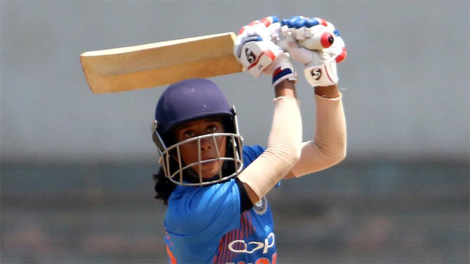 Jemimah Rodrigues has moved to a career-best 6th spot in the T20I rankings