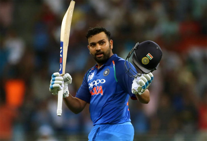 PHOTOS: Rohit, Dhawan hit tons as India crush Pakistan - Rediff Cricket