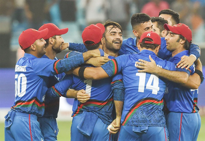 Coach of IPL franchise Sunrisers Hyderabad, Tom Moody feels Afghanistan could roll a few teams over at next year's ICC World Cup