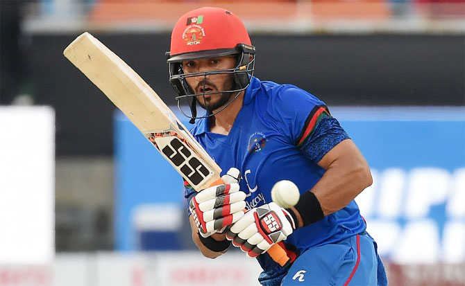 Mohammad Nabi struck 64 off 56 balls late in the innings to prop Afghanistan to 252