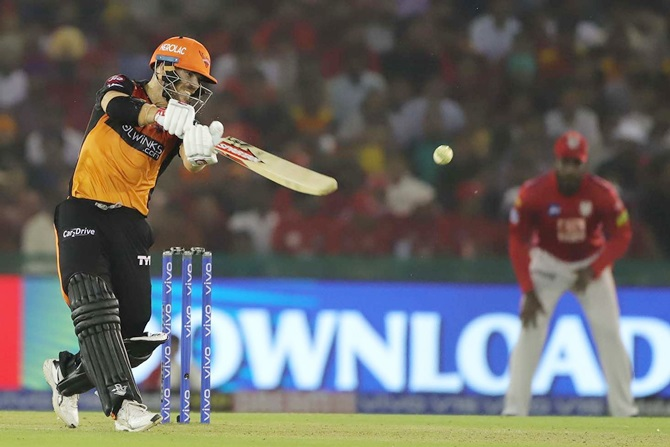 David Warner's 50 came off 49 balls, his slowest in the IPL