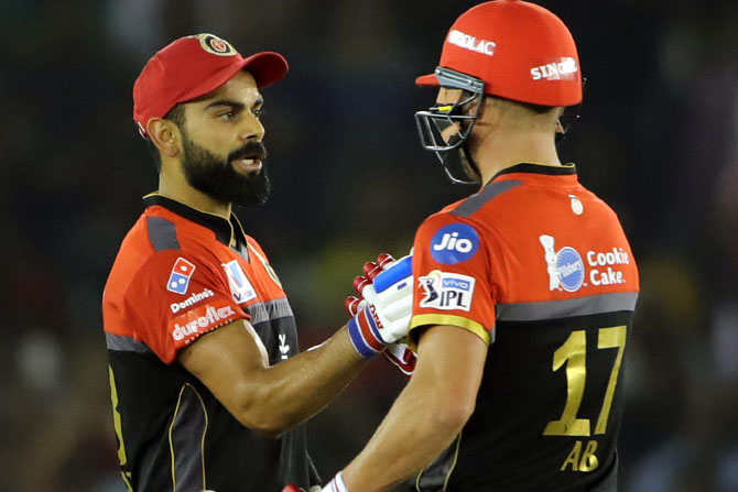 SEE: De Villiers all praise for Kohli's captaincy