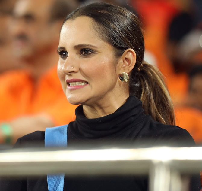 After India thrash Pak, Sania takes a break from Twitter