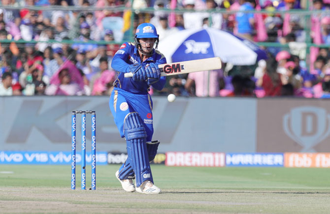 Mumbai Indians' Quinton de Kock has been prolific up the order