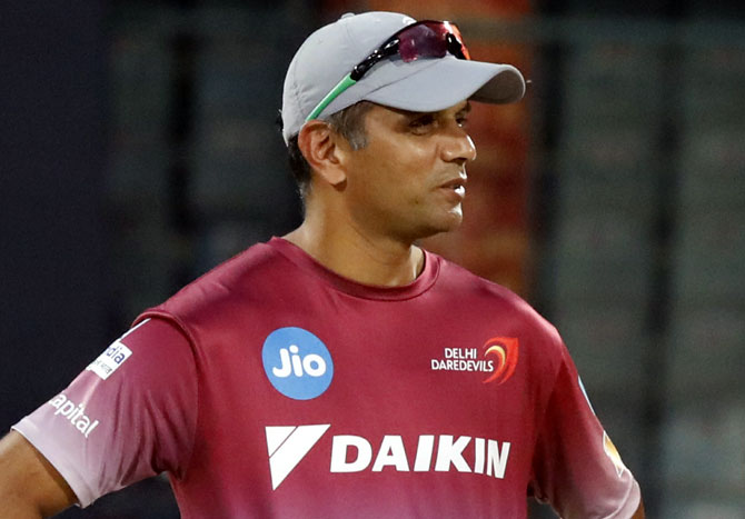 Conflict of Interest keeps Dravid from taking NCA charge