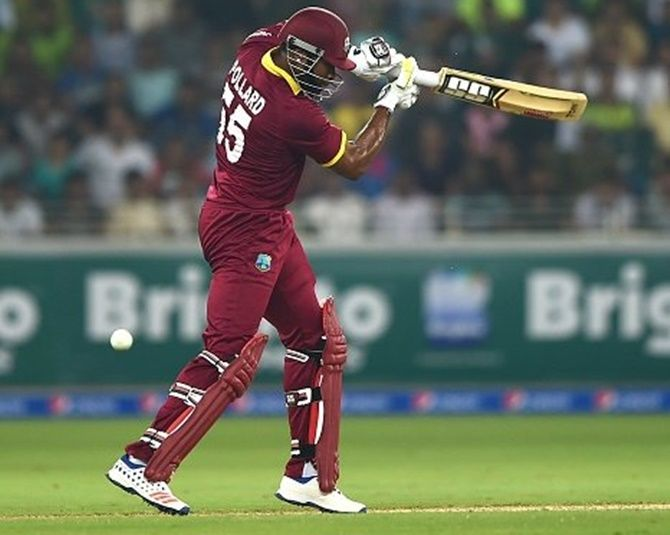 Kieron Pollard top-scored for West Indies in the first T20 with 49 runs and more will be expected of him if the hosts are save face