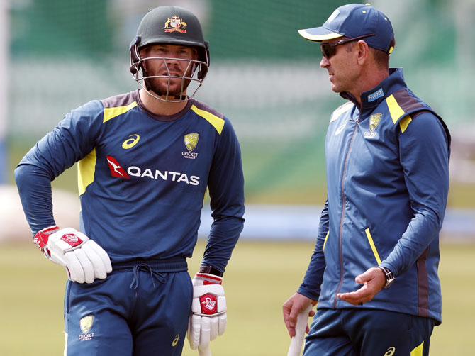 'Australia's focus on winning Tests, not hitting helmets'