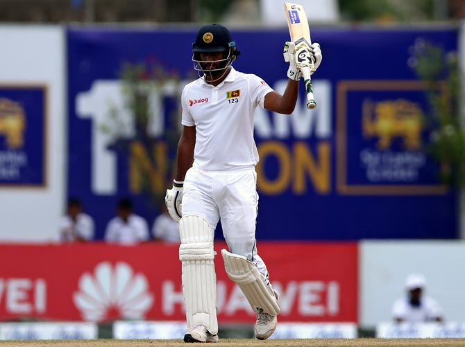 Karunaratne leads Sri Lanka victory push in Galle