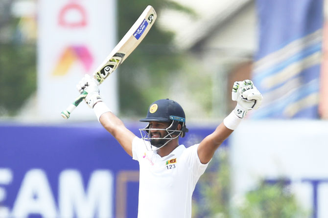 1st Test: Karunaratne leads Sri Lanka to win in Galle
