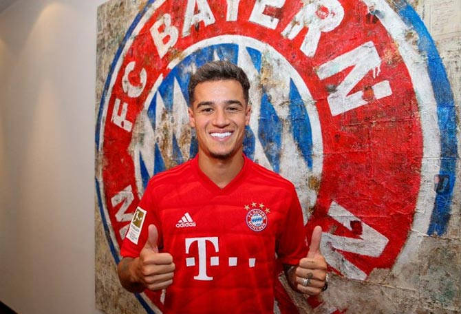 Soccer Extras: Bayern sign Coutinho on loan from Barca