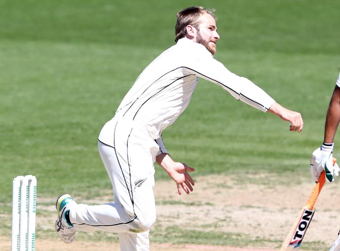 Williamson reported for suspect bowling action