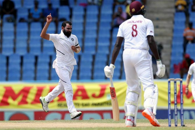 PHOTOS: West Indies vs India, 1st Test, Day 3