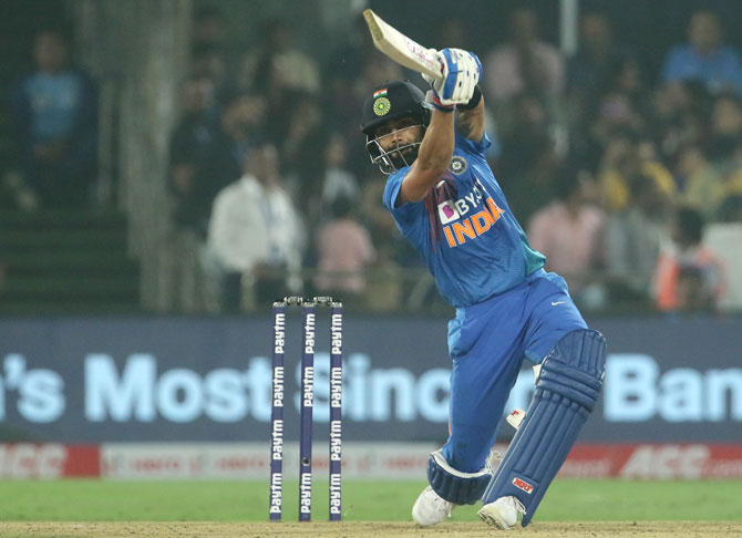 Captain Kohli would rather finish than entertain