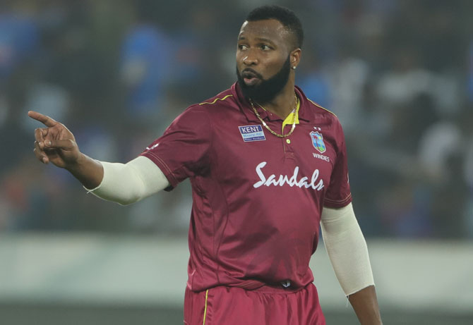 Windies captain Pollard slams bowlers after loss