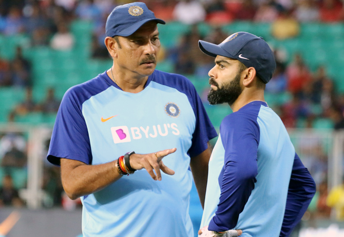 India's lack of sharpness in the fielding and bowling departments has given coach Ravi Shastri and captain Virat Kohli a lot to ponder about