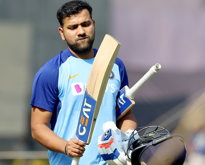 T20 WC is long, long way away, focus on present: Rohit