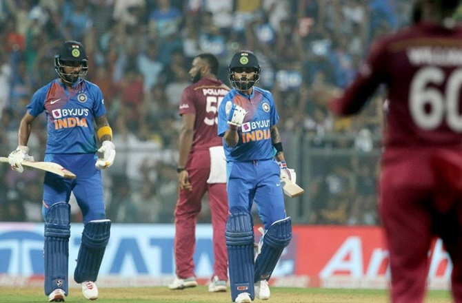 PHOTOS: India vs West Indies, Third T20I