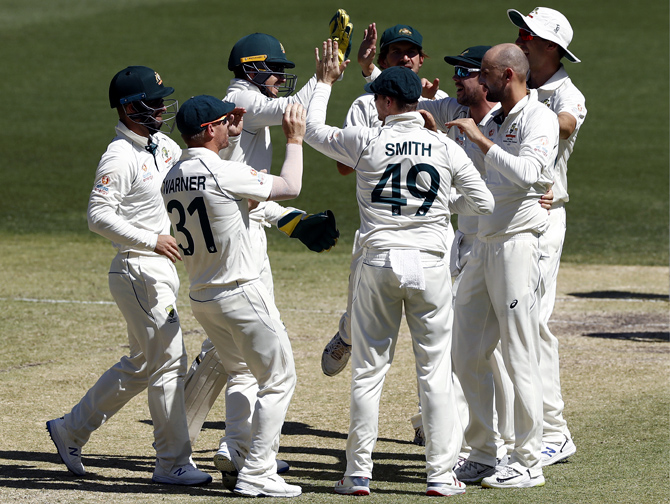 PHOTOS: Australia thrash New Zealand by 296 runs