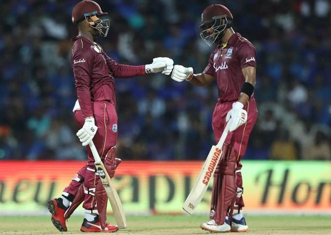 Hetmyer, Hope star as Windies thrash India in 1st ODI
