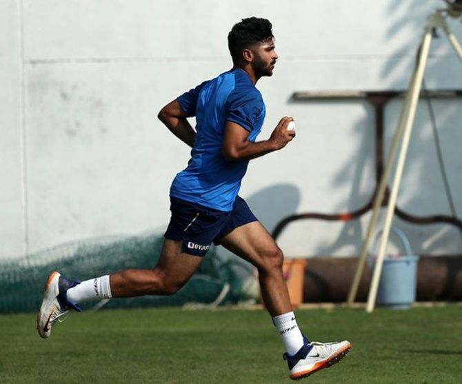 Shardul Thakur became the first Indian bowler to resume training in the month of May