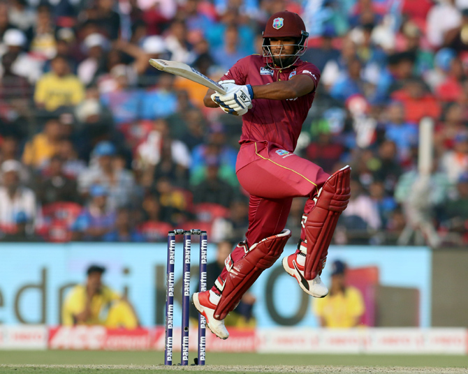 Nicholas Pooran put on a superb batting display, scoring 89 off 64 balls to prop the Windies innings