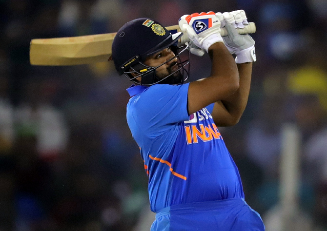 Rohit Sharma also tops the charts with 1490 runs in ODIs in 2019
