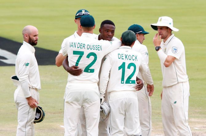 At least two black players and another four from South Africa's mixed-race and Indian communities must play but last week's first Test had two new white players capped while another is expected to debut on Friday in the second Test at Newlands.