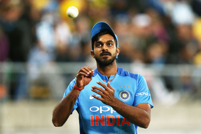 How Vijay Shankar is preparing for the World Cup
