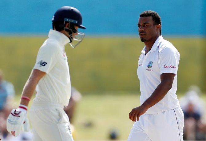 The 32-year-old Shannon Gabriel has 133 wickets in 45 Test matches