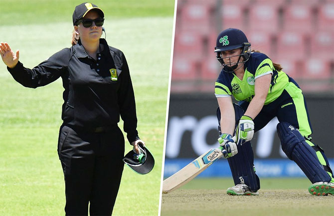Rediff Cricket - Indian cricket - Cricket Buzz: Women umpires to make history in Adelaide
