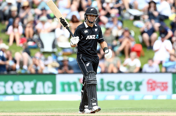 Rediff Sports - Cricket, Indian hockey, Tennis, Football, Chess, Golf - Taylor claims record as New Zealand whitewash Bangladesh