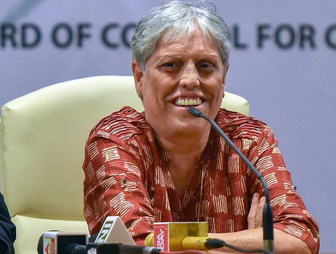 Committee of Administrators (CoA) member Diana Edulji